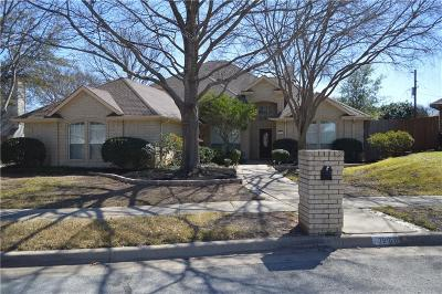 North Richland Hills Single Family Home Active Option Contract: 7816 Hidden Oaks Drive