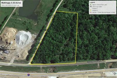 Richland Residential Lots & Land For Sale: 3.33ac S Ih 45 E
