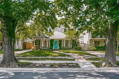 Highland Park Residential Lease For Lease: 3613 Shenandoah Street