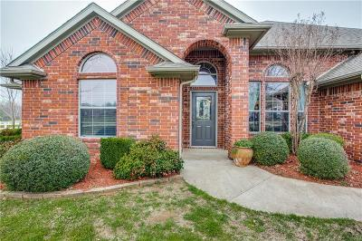 Burleson Single Family Home Active Option Contract: 3708 Vista North Drive