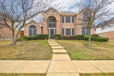 Plano Single Family Home Active Option Contract: 8117 Spring Valley Lane