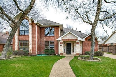 Coppell Single Family Home Active Option Contract: 110 Winding Hollow Lane