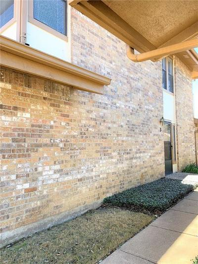 Hurst, Euless, Bedford Townhouse For Sale: 3 Cedar Lane