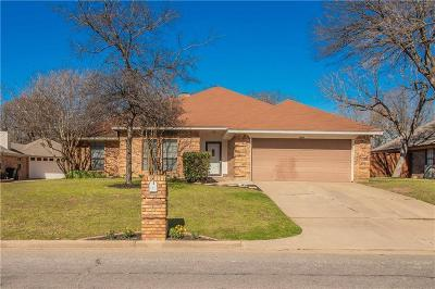 North Richland Hills Single Family Home Active Option Contract: 7521 Woodhaven Drive
