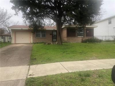 Mesquite Single Family Home For Sale: 1002 Appleblossom Lane