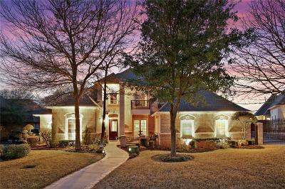 Tarrant County Single Family Home Active Option Contract: 4005 Treemont Circle