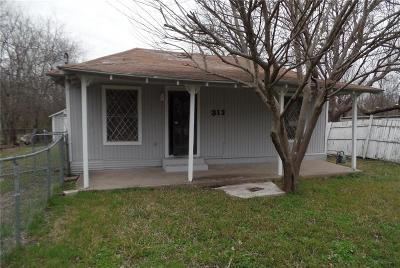 Terrell Single Family Home For Sale: 313 James Street