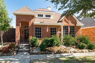 Frisco Single Family Home Active Option Contract: 7556 Glasshouse Walk