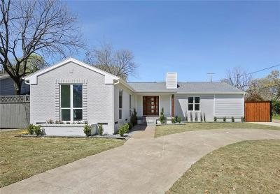 Dallas County Single Family Home For Sale: 5031 Waneta Drive