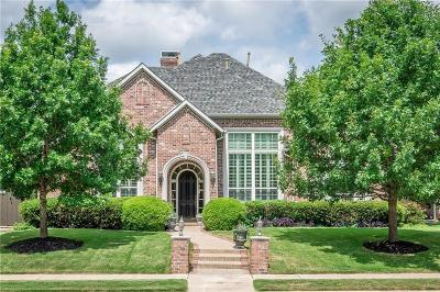 Allen Single Family Home Active Option Contract: 619 Driftwood Court