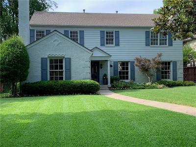University Park TX Single Family Home For Sale: $1,469,000