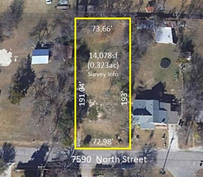 Frisco Residential Lots & Land For Sale: 7590 North Street