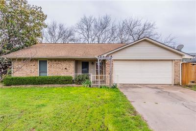 Waxahachie Single Family Home Active Option Contract: 216 N Edgefield Road