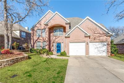 Lewisville Single Family Home Active Option Contract: 1383 Clear Creek Drive