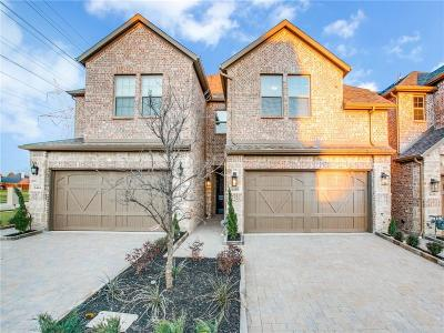 Plano Townhouse For Sale: 6436 Hermosa Drive