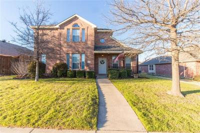 Allen Single Family Home For Sale: 1605 Warm Springs Drive