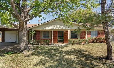 Mineral Wells Single Family Home Active Contingent: 1401 SE 21st Street