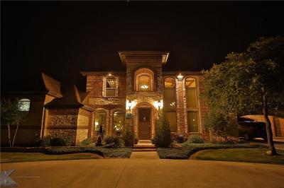 Abilene Single Family Home For Sale: 125 Castle Rock Cove