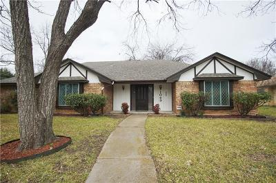 Desoto Single Family Home For Sale: 1049 Rosewood Drive