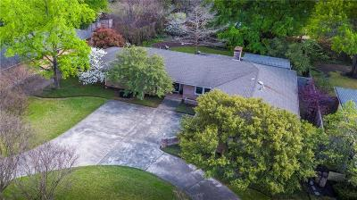 Dallas Single Family Home Active Contingent: 5832 Meadow Crest Drive