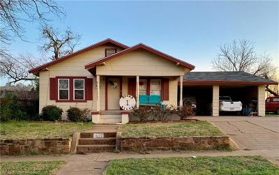 Breckenridge Single Family Home For Sale: 805 W Lindsey Street