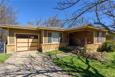 Denton Single Family Home For Sale: 1108 Crescent Street