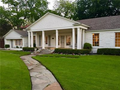 Dallas County Single Family Home For Sale: 6247 Northwood Road
