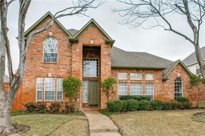 Plano Single Family Home Active Option Contract: 3809 Evesham Drive