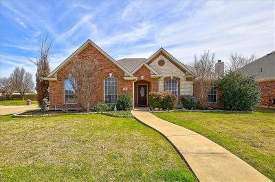 Wylie Single Family Home Active Contingent: 816 Riverhead Drive