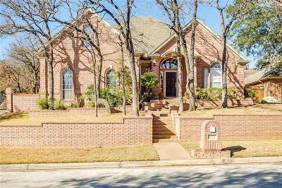 North Richland Hills Single Family Home Active Contingent: 9125 High Oaks Drive