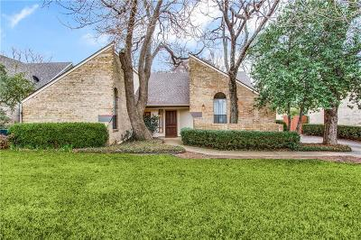 Denton Single Family Home Active Option Contract: 1917 Highland Park Circle