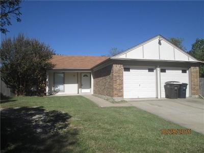 Single Family Home Active Option Contract: 7017 Moss Rose Court