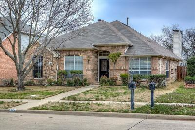 Allen Single Family Home For Sale: 121 Parkhurst Lane