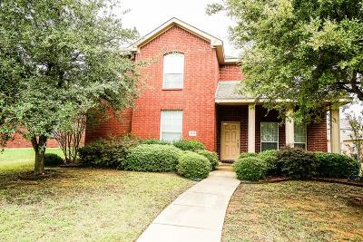 Allen Single Family Home Active Option Contract: 1613 Warm Springs Drive