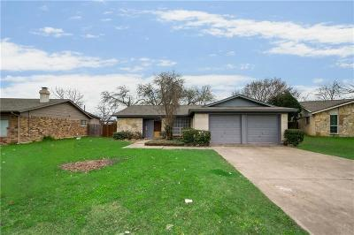 Irving Single Family Home Active Option Contract: 2608 Laramie Street