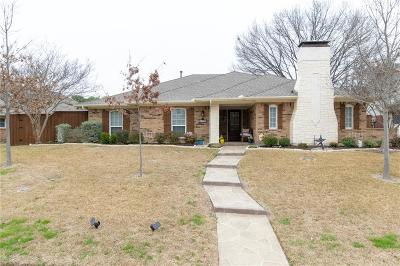 Richardson Single Family Home Active Contingent: 1122 W Lookout Drive