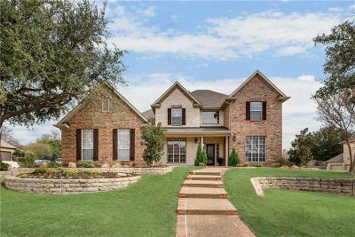 Keller Single Family Home Active Option Contract: 1317 Woodborough Lane