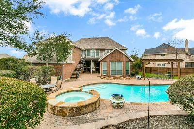 Plano Single Family Home Active Contingent: 4324 Tall Oak Lane