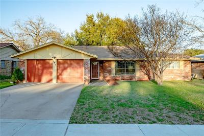 North Richland Hills Single Family Home Active Option Contract: 5412 Susan Lee Lane