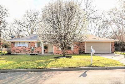Erath County Single Family Home Active Contingent: 220 Greenview Drive