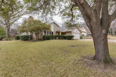 Grapevine Single Family Home Active Option Contract: 1407 Tiffany Forest Lane