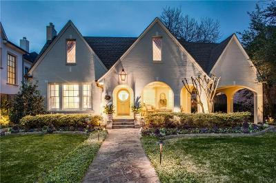 Dallas County Single Family Home For Sale: 3314 Drexel Drive