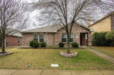 Allen Single Family Home Active Contingent: 1316 Rusk Drive