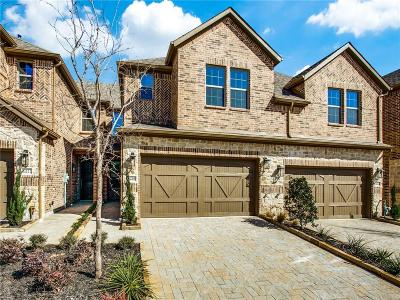 Plano Townhouse For Sale: 4549 Titus Circle