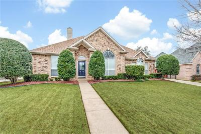 Hurst Single Family Home Active Option Contract: 1653 Oak Creek Drive