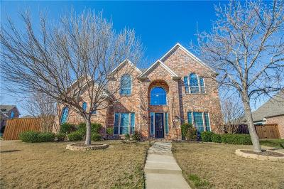 Frisco Single Family Home Active Option Contract: 13328 Deercreek Trail