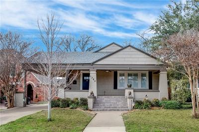 Fort Worth Single Family Home For Sale: 1704 Ashland Avenue