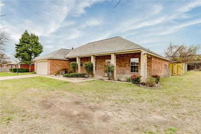 Aledo Single Family Home Active Option Contract: 3820 Linkcrest Drive