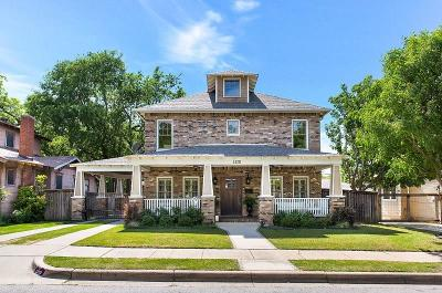 Fort Worth Single Family Home Active Option Contract: 1320 Washington Avenue