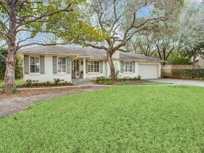 Dallas County Single Family Home For Sale: 5820 Royal Crest Drive